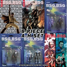 BSG VS BSG #1 A-H COVER BATTLESTAR GALACTICA SET