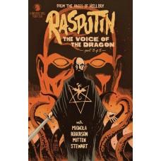 RASPUTIN VOICE OF DRAGON #3 (OF 5) FRANCAVILLA VARIANT