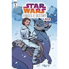 STAR WARS ADV FORCES OF DESTINY LEIA CVR A