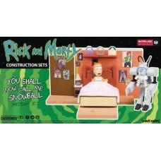RICK & MORTY SNOWBALL MED CONSTRUCTION SET CS (Net)