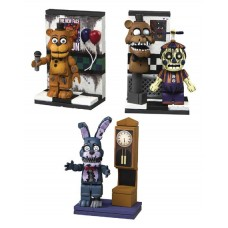 FIVE NIGHTS AT FREDDYS 3 MICRO CONST SET ASST (Net)