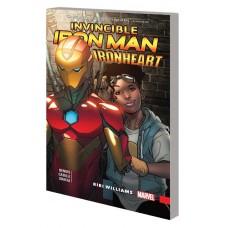 INVINCIBLE IRON MAN IRONHEART TP VOL 01 RIRI WILLIAMS