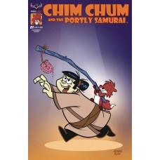 CHIM CHUM & PORTLY SAMURAI #1 CVR B ROPP DOUGHNUT