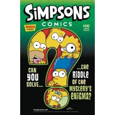 SIMPSONS COMICS #242