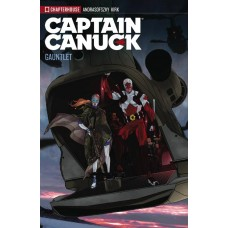 CAPTAIN CANUCK TP VOL 02 THE GAUNTLET