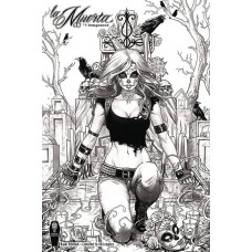 LA MUERTA VENGEANCE #1 RAW S&N ED (MR)