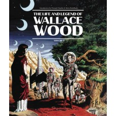 LIFE & LEGEND WALLACE WOOD HC VOL 02