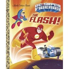 DC SUPER FRIENDS LITTLE GOLDEN BOOK FLASH