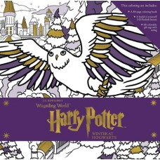 HARRY POTTER WINTER HOGWARTS MAGICAL COLORING SET