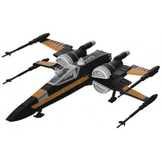 SW E8 POE BOOSTED X-WING FIGHTER MDL KIT (Net)