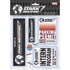 MARVEL STARK INDUSTRIES WELCOME PACK PX VINYL DECAL