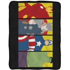 AVENGERS CHARACTER FLEECE BLANKET