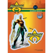 DC HEROES AQUAMAN PX VINYL DECAL