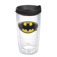 DC COMICS BATMAN 16OZ TUMBLER W/ BLACK LID