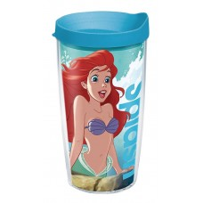 DISNEY ARIEL DREAM BIG 16OZ TUMBLER W/ LIGHT BLUE LID