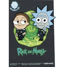 RICK AND MORTY COP RICK AND MORTY LAPEL PIN 2PC SET