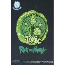 120117ND MORTY TOXIC LAPEL PIN