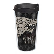 GOT WINTER IS HERE 16OZ TUMBLER W/ BLACK LID