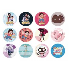STEVEN UNIVERSE 1-1/4IN 144 PIECE BUTTON ASST