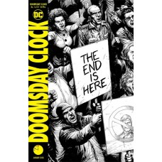 DOOMSDAY CLOCK #1 2ND PRINT VARIANT EDITION