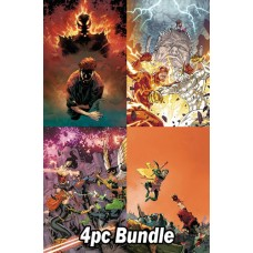 DC ANNUALS FROM OCTOBER PREVIEWS 4PC BUNDLE