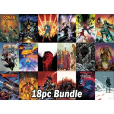 MARVEL #1's FROM THE NOVEMBER PREVIEWS 18PC BUNDLE