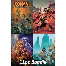 CONAN THE BARBARIAN #1 and #2 REG & VARIANT 11PC BUNDLE