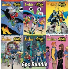 ARCHIE MEETS BATMAN 66 #6 CVR A B C D E F 6PC BUNDLE