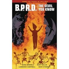 BPRD DEVIL YOU KNOW TP VOL 01
