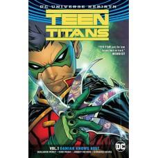 TEEN TITANS TP VOL 01 DAMIAN KNOWS BEST (REBIRTH)