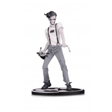 BATMAN BLACK & WHITE STATUE WHITE KNIGHT JOKER BY MURPHY