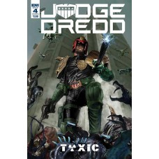 JUDGE DREDD TOXIC #4 CVR B GALLAGHER