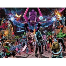GUARDIANS OF THE GALAXY #1 SHAW WRAPAROUND VARIANT