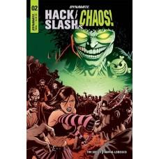 HACK SLASH VS CHAOS #2 CVR B CERMAK