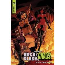 HACK SLASH VS CHAOS #2 CVR C CELOR