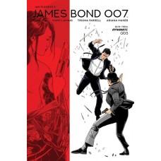 JAMES BOND 007 #3 CVR D LAMING