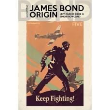 JAMES BOND ORIGIN #5 CVR C WALSH