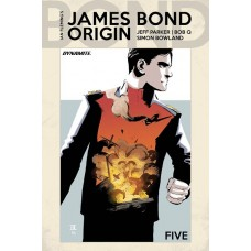 JAMES BOND ORIGIN #5 CVR D MOUSTAFA