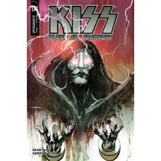 KISS BLOOD STARDUST #4 CVR A SAYGER