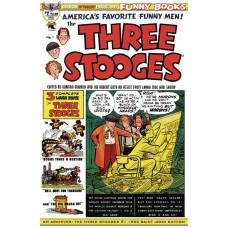 AM ARCHIVES THREE STOOGES #1 1953 SAINT JOHN EDITION