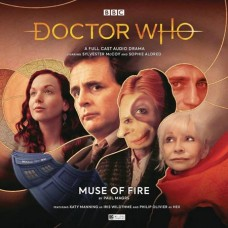 DOCTOR WHO MUSE OF FIRE AUDIO CD