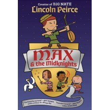 MAX AND THE MIDKNIGHTS ILLUS YA NOVEL HC
