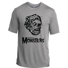 SHOCK MONSTER SILVER T/S XL
