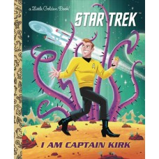 I AM CAPTAIN KIRK LITTLE GOLDEN BOOK