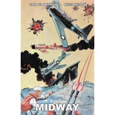 MIDWAY FROM PAGES OF COMBAT ONE SHOT GLANZMAN CVR