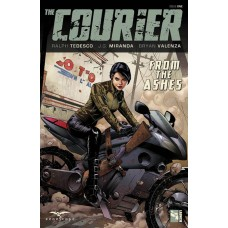 COURIER TP VOL 01 THROUGH THE ASHES