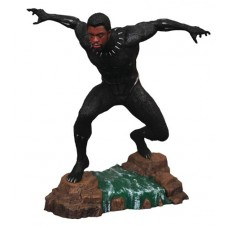 MARVEL GALLERY BLACK PANTHER MOVIE UNMASKED PVC FIGURE