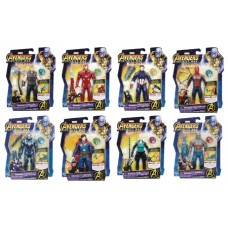 AVENGERS 6IN AF W/INFINITY STONE ASST 201803