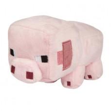 MINECRAFT BABY PIG 8 IN PLUSH
