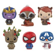 PINT SIZED HEROES MARVEL HOLIDAY 24PC BMB DISP